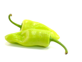 bell pepper on a white background
