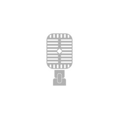 Simple icon microphone.