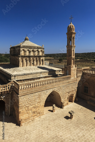 Virgin Mary church near Mardin