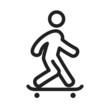 Skate Boarding - 82389266