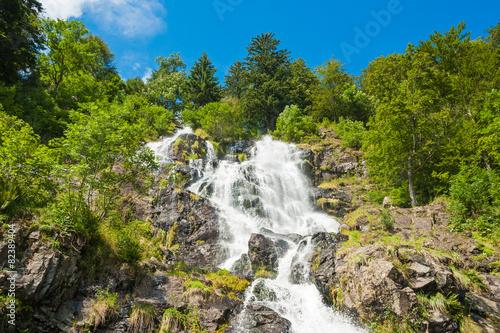 Leinwanddruck Bild Todtnauer Wasserfälle, Todtnau