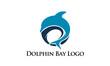 Dolphin Bay Logo - 82389865