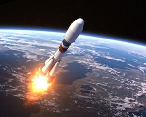 """Carrier rocket """"Soyuz-2"""" Launch"""