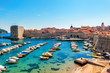 Beautiful sunny day over the bay in front of old town Dubrovnik - 82398484
