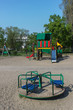 canvas print picture - kids street playground