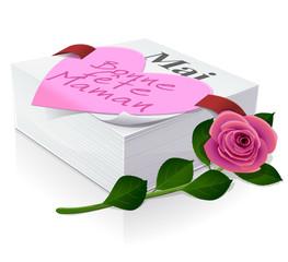 Mai : jour de la fête des mères