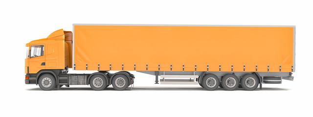 cargo truck - orange - shot 41