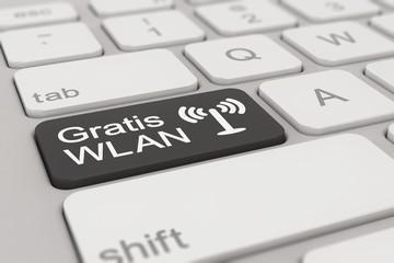 keyboard - Gratis WLAN - black