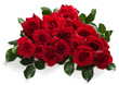 Big bouquet of red roses - 82412036
