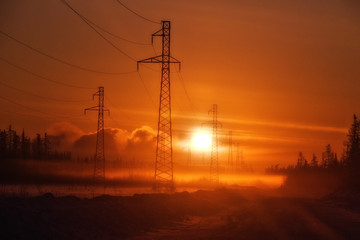 Electricity, Power Line