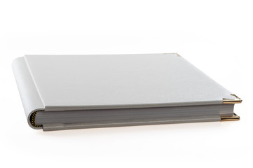 book album on a white background