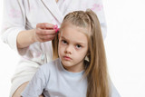 My daughter is tired of long hair splicing poster