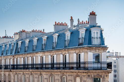 Papiers peints Paris Toits de Paris