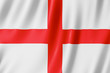 Leinwanddruck Bild - Flag of England - St George's Cross