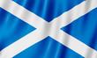 Leinwandbild Motiv Flag of Scotland