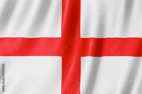 Leinwanddruck Bild Flag of England - St George's Cross