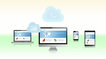 Cloud Network and Responsive Design