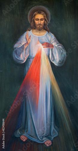 Zdjęcia na płótnie, fototapety na wymiar, obrazy na ścianę : Jerusalem - modern paint of Jesus in Armenian Church