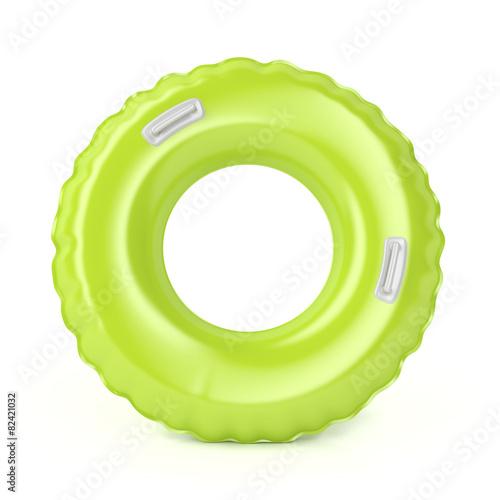 Leinwandbild Motiv Green swim ring