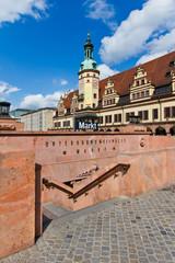 Leipziger Markt mit Altes Rathaus