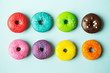 Colorful donuts - 82421428