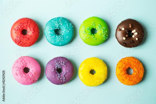 Aluminium Koekjes Colorful donuts