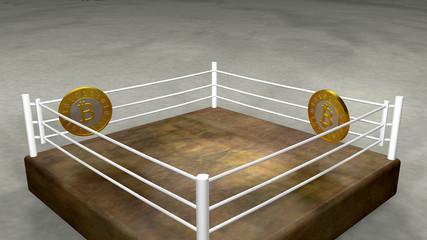 Bitcoins fight