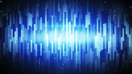 abstract sequences blue loopable background 4k (4096x2304)
