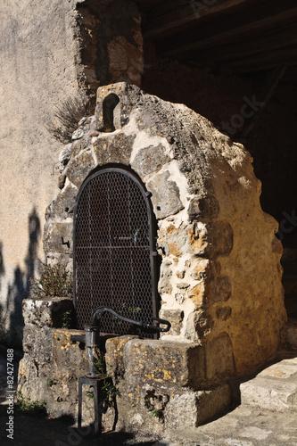 Leinwanddruck Bild Castelnau-Barbarens (Gers)