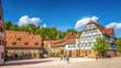 Leinwanddruck Bild - Kloster Maulbronn
