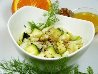 Fenchel-Zucchini-Salat