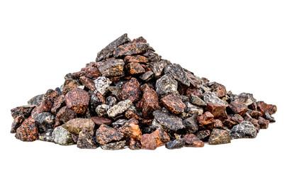 Hill large granite gravel