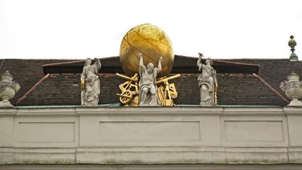 Hofburg Palace in Vienna. Austria