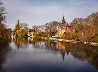 Castle of Bruges Belgium