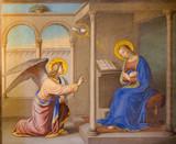 Rome - Annunciation fresco Chiesa della Trinita dei Monti. - 82434003