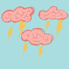 Brain storm.