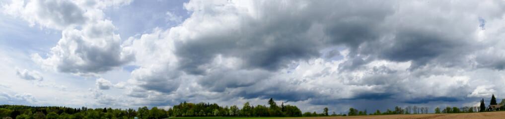 Panoramabild der Schwäbischen Alb