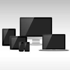 Computers, Tablets & Phones with Black Screens
