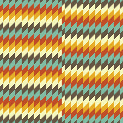 Seamless geometric background. Mosaic.