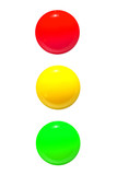 traffic lights icon red yellow green - 82454465
