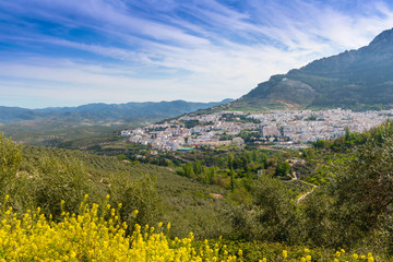 View of Cazorla Town, Jaen Province, Andalusia, Spain