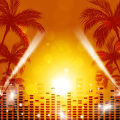 Tropical Music Background