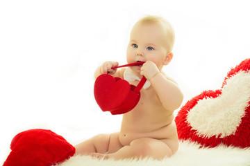 Valentine's Day, baby