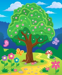 Springtime tree topic image 3