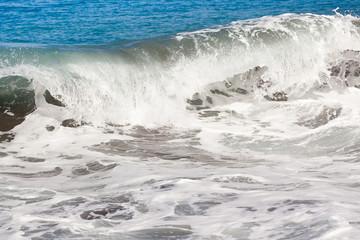 vague déferlante, Etang-Salé, île de la Réunion