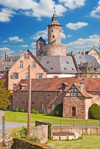 Leinwandbild Motiv Schloss Büdingen 2
