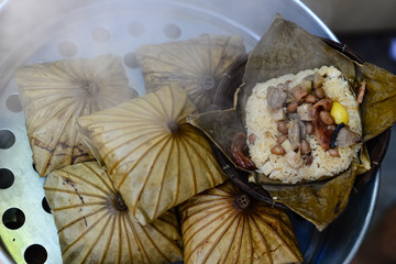 Lotus Leaf Rice Wraps