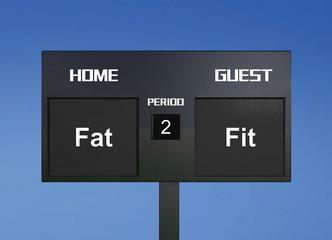 fat fit scoreboard