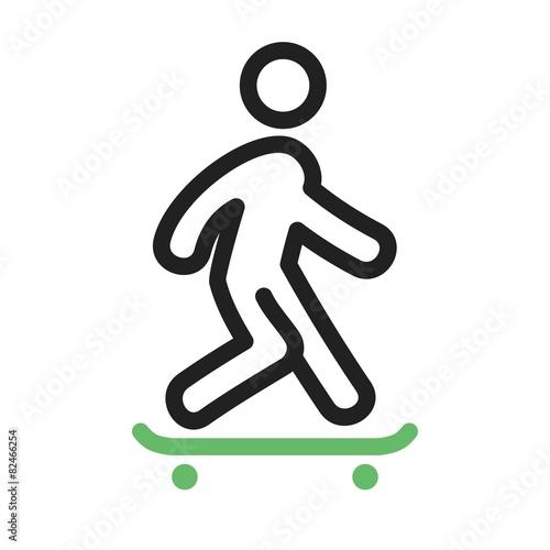Skate Boarding - 82466254