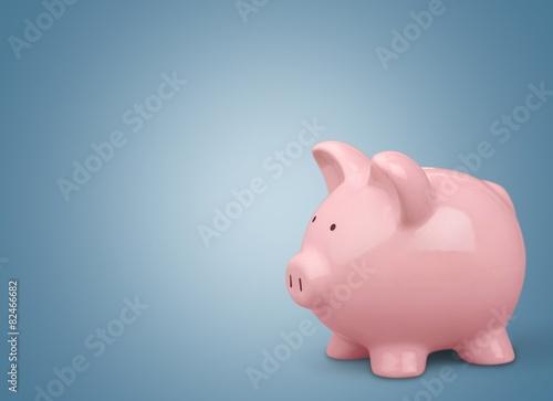 canvas print picture Piggy Bank. Piggy Bank Savings
